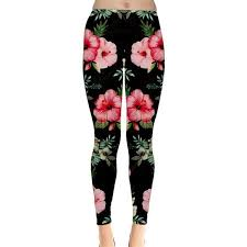CowCow Womens <b>Vintage</b> Rose Flowers <b>Floral Skull</b> Leggings ($11 ...