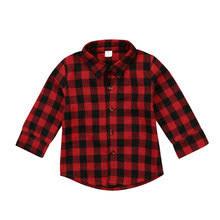 baby <b>plaid</b> shirt