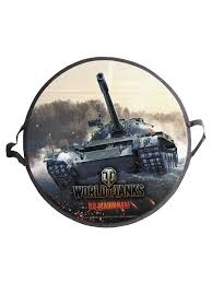 <b>Ледянка World of</b> Tanks 52 см, круглая 1Toy 4694124 в интернет ...