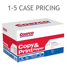 copy multipurpose paper copy paper letter 20lb 92 bright 5 000ct 1