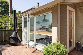 bi fold doors deck contemporary with bifold door bifold window bi fold doors home office