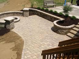 stone patio installation:  installation patio ideas pavers patio paver designs