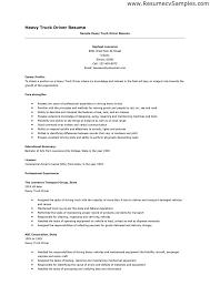 resume truck drivers and trucks dump truck driver resume exle for dump truck driver job description