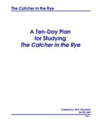 the catcher in the rye essay topicscatcher in the rye essay thesis   ricky martin