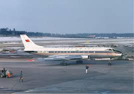1963 Aeroflot Tupolev Tu-124 Neva river ditching