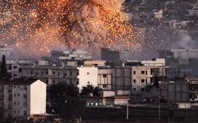 leader the lessons of europe s thirty years war an explosion over the skyline of kobani