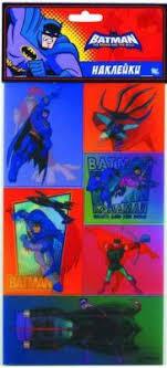 """<b>Наклейки 3D ACTION</b>! """"Бэтмен:отважный и смелый"""" 12*20,5см ..."""