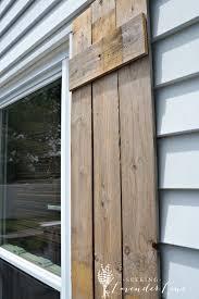 Diy Wooden Shutters