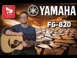 Обзор <b>акустической гитары YAMAHA</b> FG820 - YouTube
