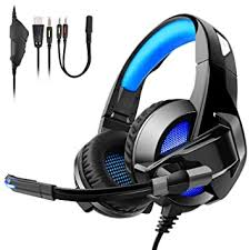Tenswall Comfortable <b>Over</b>-<b>Ear Foldable</b> Gaming: Amazon.in ...