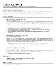 sprint call center resume by jesse kendall resume samples for retail sales associate