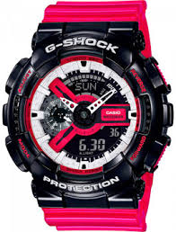<b>Часы Casio GA</b>-<b>110RB</b>-<b>1AER</b> - купить <b>мужские</b> наручные часы в ...
