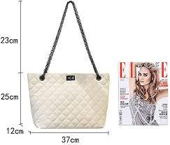MEGA <b>Women Fashion Patent Leather</b> Tote Bag Rhomboids Large ...