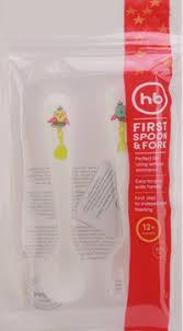 Набор <b>столовых приборов HAPPY BABY</b> First spoon&fork 15018 ...
