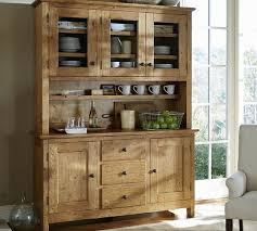 rustic hutch dining room: buffet amp hutch love this idea in a darker wood for the family dining room