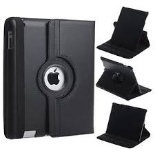 360 Rotating <b>PU Leather Case</b> / <b>Cover</b> / Stand for Apple iPad 2 3 4 ...