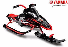 YM13001 <b>Снегокат YAMAHA Apex SNOW</b> BIKE Titanium black/red ...