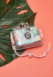 Shop SunnyLife multicolor Palm Print <b>Underwater</b> Camera ...