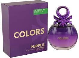 United <b>Colors</b> Of <b>Benetton Purple</b> Perfume by <b>Benetton</b>