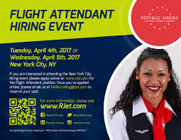 republic airline linkedin apply today at rjet com and join us at a new york city hiring event on 4 or 5 please email farecruiting rjet com a submitted application to