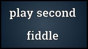 「play second fiddle」の画像検索結果
