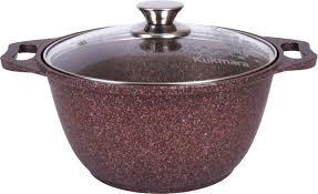 <b>Кастрюля Kukmara</b> Granit ultra, с <b>мраморным</b> антипригарным ...