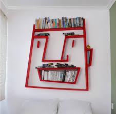 unique home accessories with funny bookshelf design accessories furniture funny