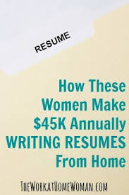 ideas about Professional Resume Writers on Pinterest     See how two successful Resume Writers are making over    K a year from home just