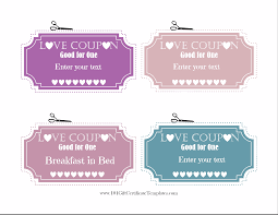 Free Editable Love Coupons love coupons for him