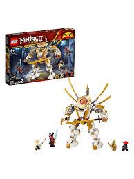 <b>Конструктор LEGO NINJAGO</b> 71702 <b>Золотой</b> робот LEGO ...