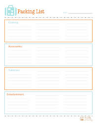 packing slip printable packing list shipping documents packing list 03
