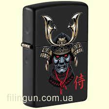 <b>Зажигалка</b> Zippo 49259 <b>Samurai Helmet</b> Design – купить в ...