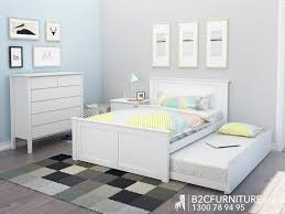 Kids Bedroom Furniture Packages Dandenong Bedroom Suites Trundle Double Bed B2c Furniture