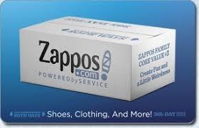 Zappos.com eGift Card | GiftCardMall.com