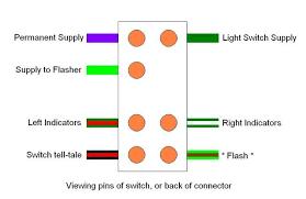 hazard switch & indicators fault diagnosis defender forum 4 Pin Flasher Relay Wiring Diagram 4 Pin Flasher Relay Wiring Diagram #62 3 pin flasher relay wiring diagram