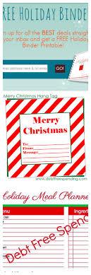 printable christmas binder for debt spending christmas binder 2014