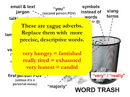 """word trash """"word trash"""" – words  phrases and habits that should    word trash slang terms symbols instead of words  ex   amp  or    first"""