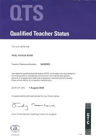 holly v smith teaching professional my qualifications