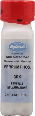 Hyland's Ferrum Phos. 30X, 250 Tablets - Smith's Food and Drug