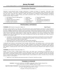 construction general foreman resume equations solver resume template for construction supervisor