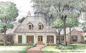 French Country House Plan  Country French House Plan  South    Plan   Image