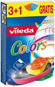 Набор <b>губок VILEDA Pure Colors</b> 149470, 4шт купить в Минске по ...