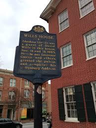 gettysburg address ordinary philosophy david wills house historical marker gettysburg pa 2016 amy cools