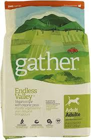 Petcurean <b>Gather Endless Valley</b> Vegan Recipe Dry <b>Dog</b> Food - 16 ...