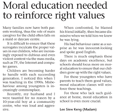 moral education essay  mkoanodnsca need for moral education essay riordan manufacturing essaybut the implementers of the policies did not emphasize