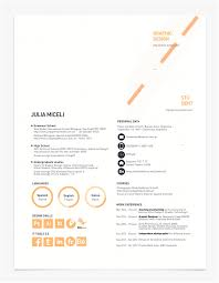 emphasize career highlights on your resume by using color just like any other piece aim for balance when defining the layout of your resume you can use color like julia miceli does above