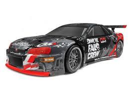 HPI #120091 E10 RC <b>Drift</b> Car Fail Crew Nissan <b>Skyline</b> R34 GT-R ...