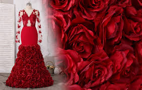 Stunning 3D <b>Flowers</b> & Feather Prom Gowns <b>2019</b> Collection ...