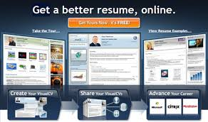 visual cv what are some free resume builder sites