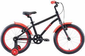 Купить <b>Велосипед Stark Foxy 18</b> 2020 черный/красный: цена ...